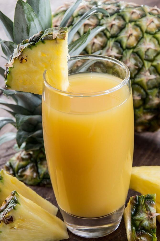 Sok od ananasa uvrstite u svoj svakodnevni meni