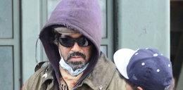 Aktor został bezdomnym