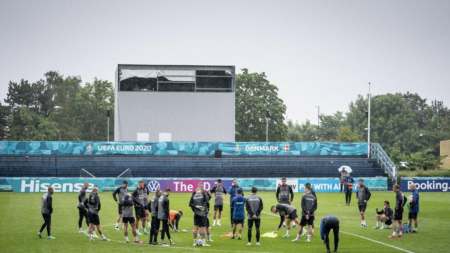 epa09313100 - DENMARK SOCCER UEFA EURO 2021 (UEFA Euro 2021 Denmark training)