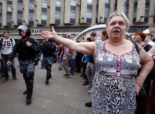 Moskwianie protestują. Nie zgadzają się z decyzjami władz