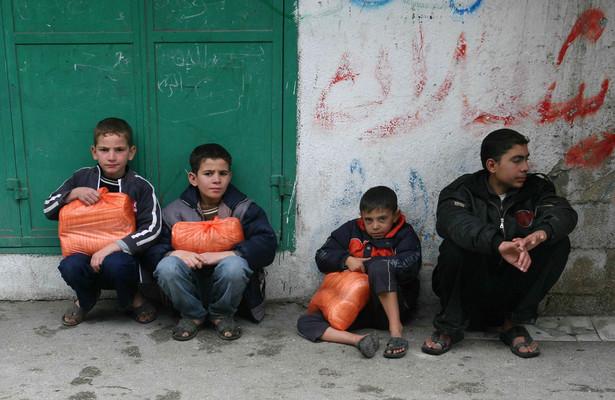 Ponad 60 proc. dochodów Palestyńczycy wydają na jedzenie