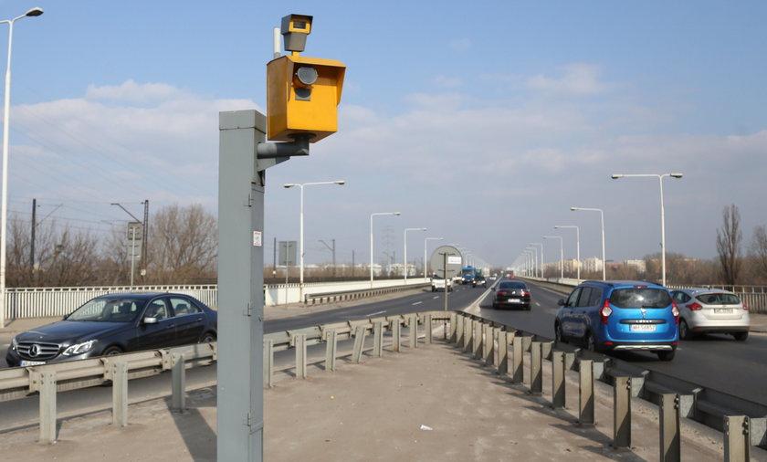 fotoradar, Warszawa