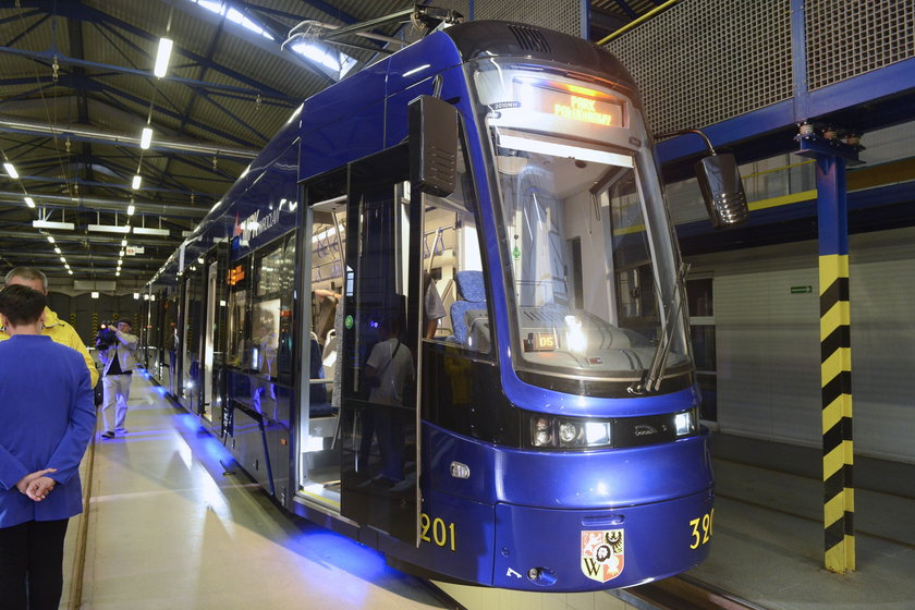 Tramwaje PESA Wrocław