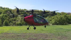 Passenger Drone testuje załogowego, latającego drona
