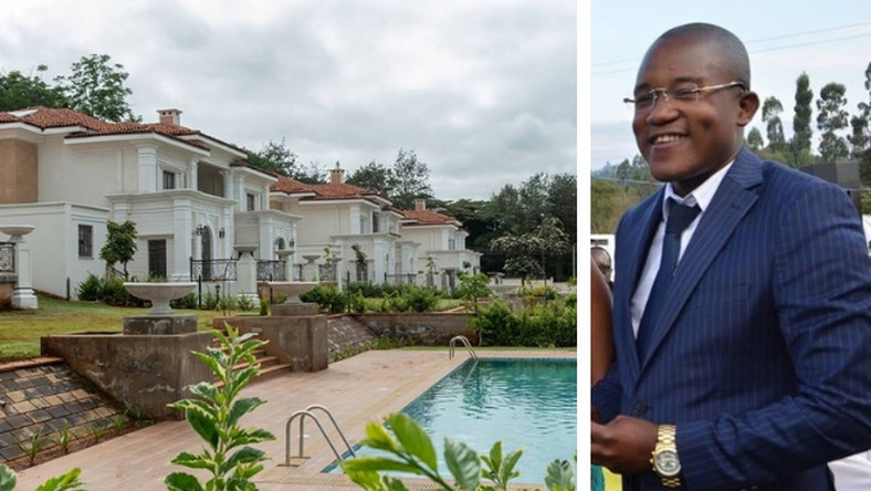 Sh105 million luxurious house bought by Jared Otieno in Karen