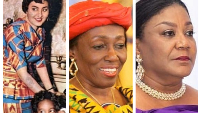 All the First Ladies of Ghana since independence
