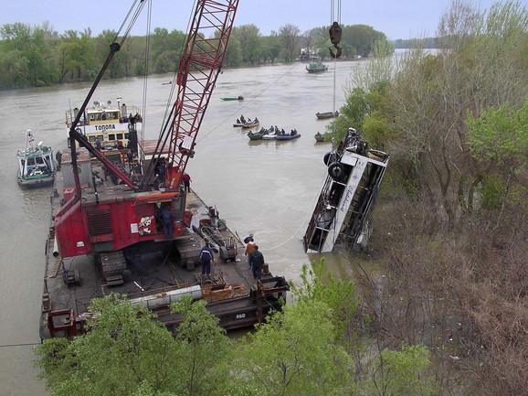 Nesreća na Žabaljskom mostu koju je skrivio Branislav Gašić i u kojoj je poginulo 11 ljudi