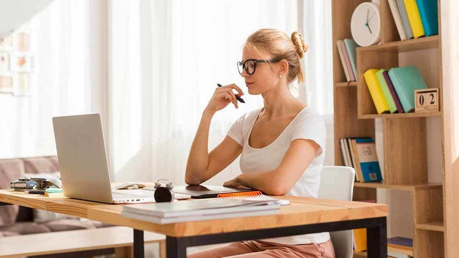 Home office - jak produktywnie pracować w domu