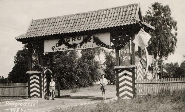 Miasteczko Dziecięce, Podgrodzie, Nowe Warpno, 1954 r.