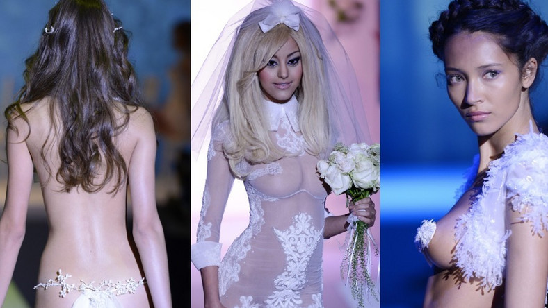 Pokaz na Paris Fashion Week Haute Couture jesień/zima 2012/2013
