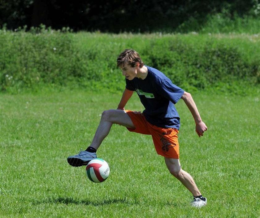 Ciągnie Stocha do piłki