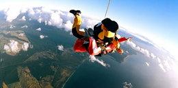 Chcesz spróbować się w skokach spadochronowych? Przyjdź posłuchać gwiazd