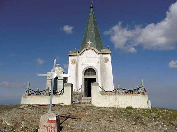 Iz ove kapele ukradeno je srce Arčibalda Rajsa