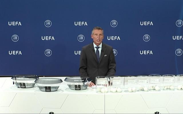 Detalj sa žreba za kvalifikacije za Ligu Evrope