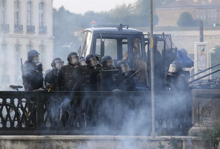 Protest Francuska