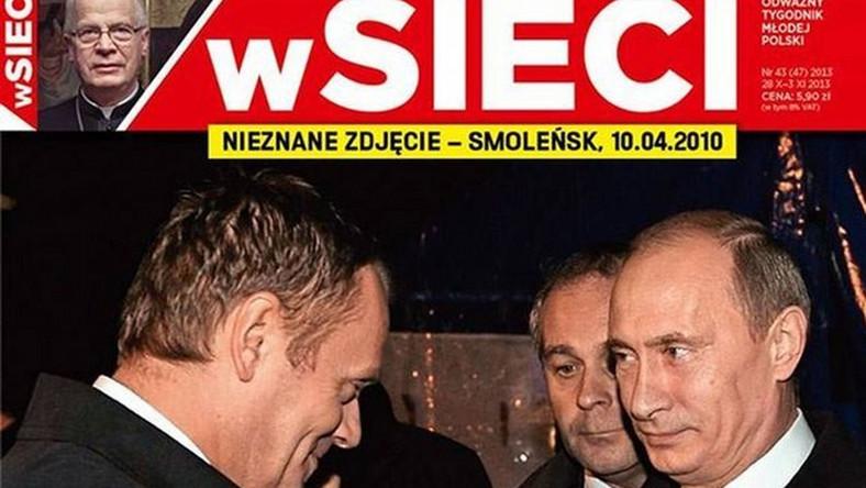 Uśmiechnięci Tusk i Putin w Smoleńsku? Ambasador: Tusk był wstrząśnięty