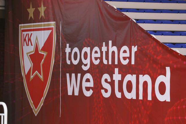 Detalj sa evroligaškog meča KK Crvena zvezda - Baskonija