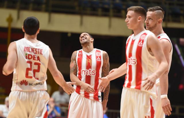 Košarkaši Zvezde spremno dočekuju meč protiv Borca