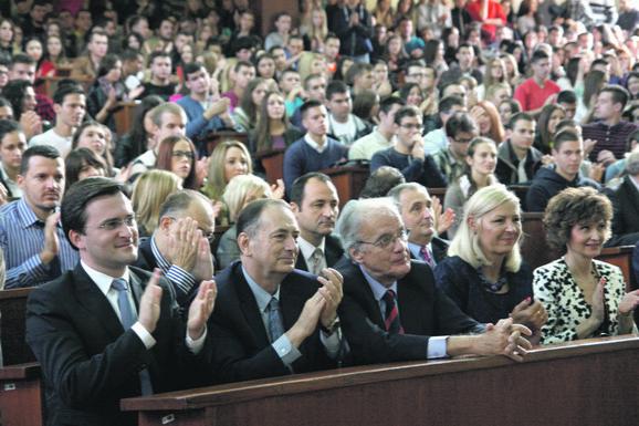Svečano na Pravnom: Studente pozdravio i ministar pravde