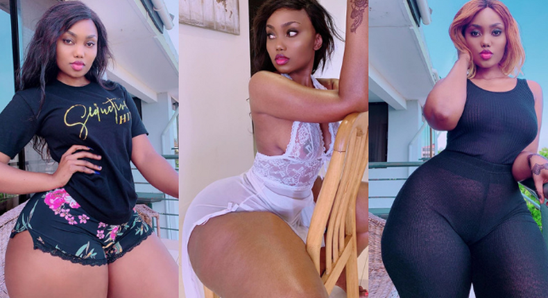 Bootylicious model Sanchoka speaks out after her alleged leaked set-tape went viral