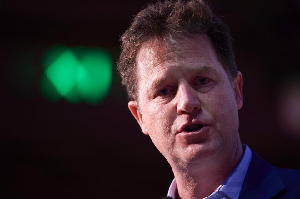 Przegrany: Nick Clegg - Liberalni Demokraci