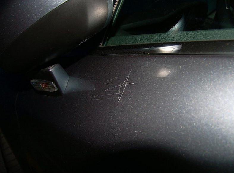 Uszkodzone auto zawadzało kandydatce
