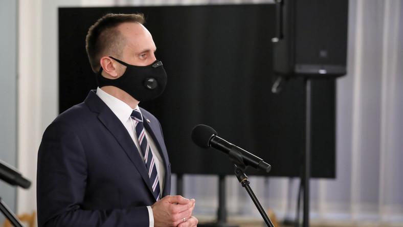Wiceminister aktywów państwowych Janusz Kowalski