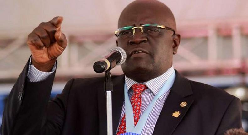 Education CS Prof George Magoha announces KCPE results