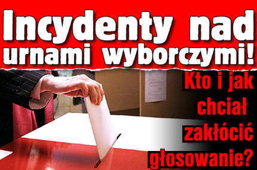 Incydenty nad urnami wyborczymi! Kto i jak chciał zakłócić głosowanie?