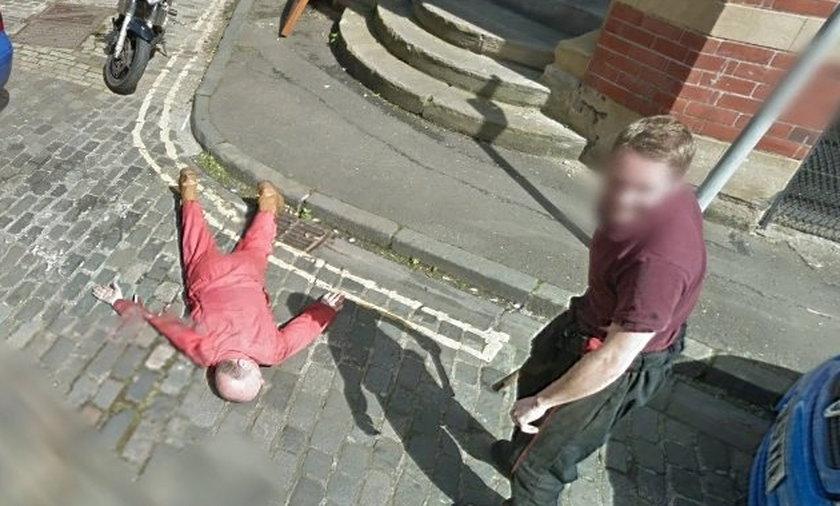 Google sfotografowało krwawe morderstwo!