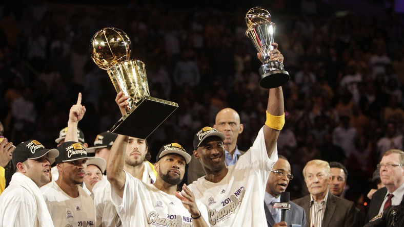 Los Angeles Lakers mistrzami NBA