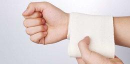 Bandaże silniejsze niż antybiotyki
