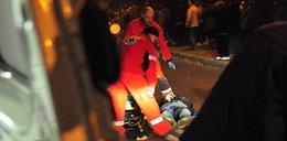 Pijany ojciec siatkarki potrącił nastolatków. ZDJĘCIA