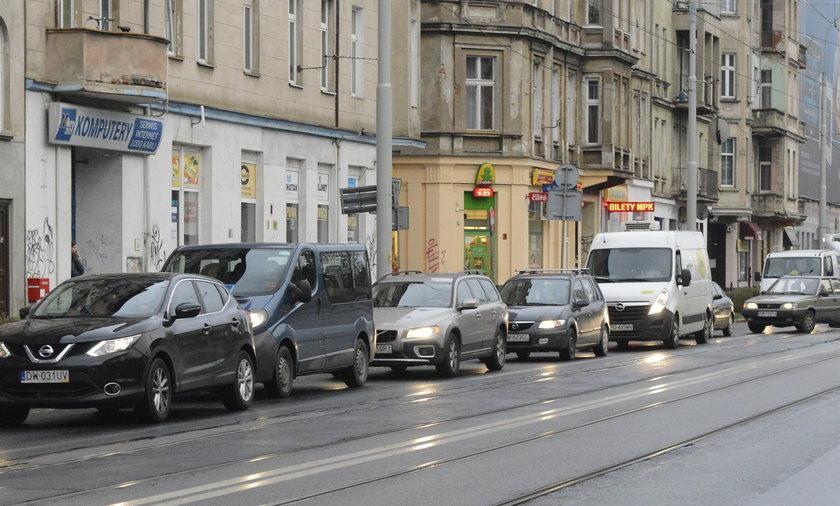 Zamknięta ulica Kurkowa