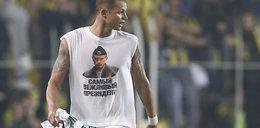 Piłkarz wywołał skandal w Turcji. Przez Putina