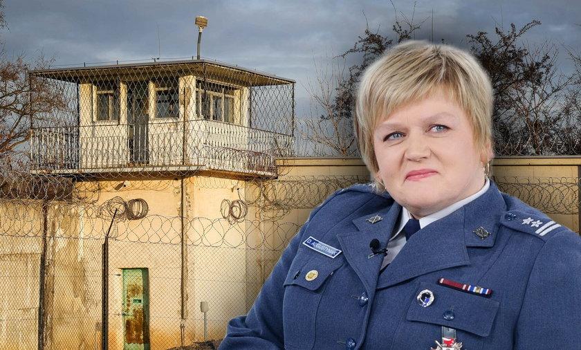Danuta Augustyniak była zastępcą największego w Polsce aresztu śledczego