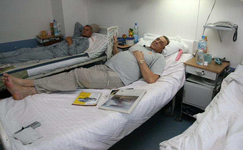 Trener dodał otuchy choremu siatkarzowi