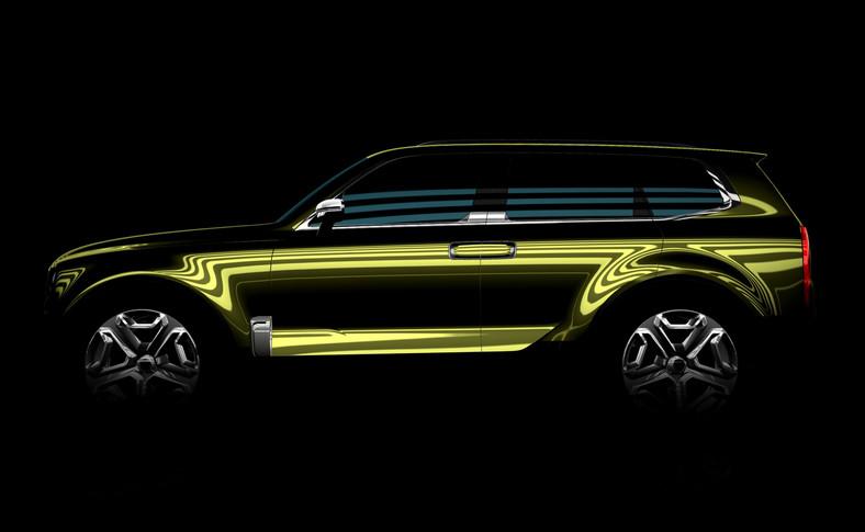 W Detroit Kia zaprezentuje prototyp zupełnie nowego i dużego SUV-a