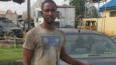 Man escapes with his boss' car, caught by police in Edo