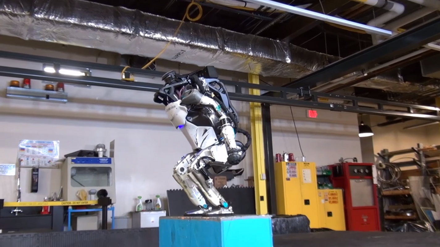 Atlas - robot firmy Boston Dynamics