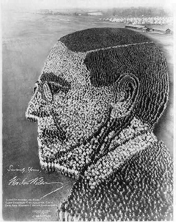 Portret Vudroa Vilsona (1918) - 21.000 oficira i ljudi
