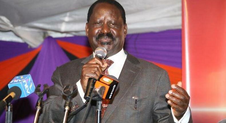 File image of former Prime Minister Raila Odinga