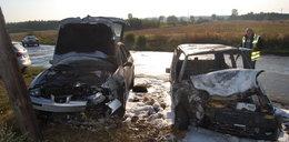 Mały wypadek, a co zostało z aut?