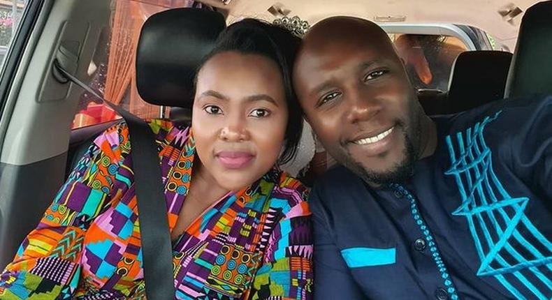 Dennis Okari pens down heartwarming message to wife Naomi as they celebrate 2nd anniversary