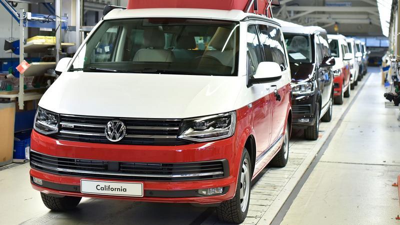 Volkswagen T6 California produkowany jest w Hanowerze