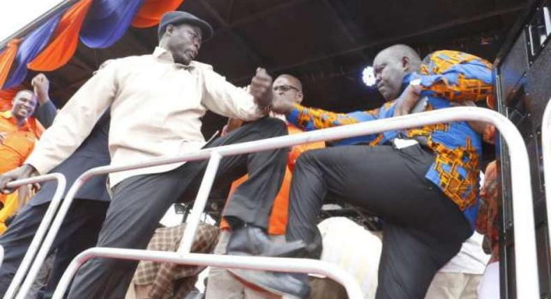 Homa Bay MP Peter Kaluma has been fined Sh100,000 over the violence that erupted in a rally at the Homa Bay Stadium on November 27, 2016.