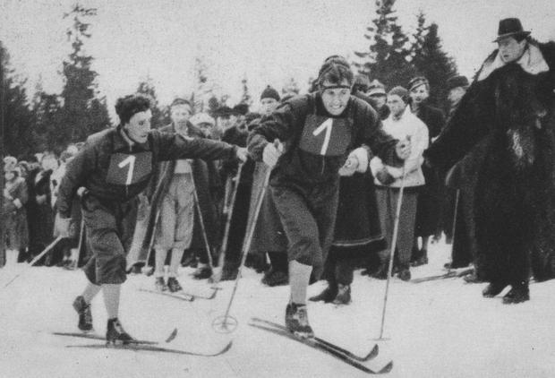 Zawody na Gubałówce, 1939 r.