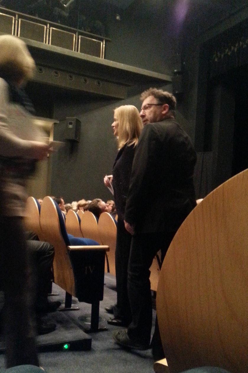 Zbigniew Zamachowski i Monika Richardson w Teatrze Syrena