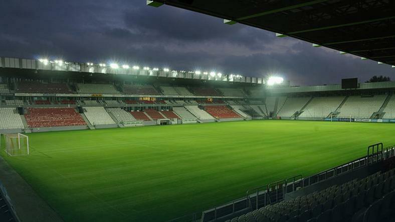 Stadion Cracovii, na którym rozgrywane będą mecze mistrzostw