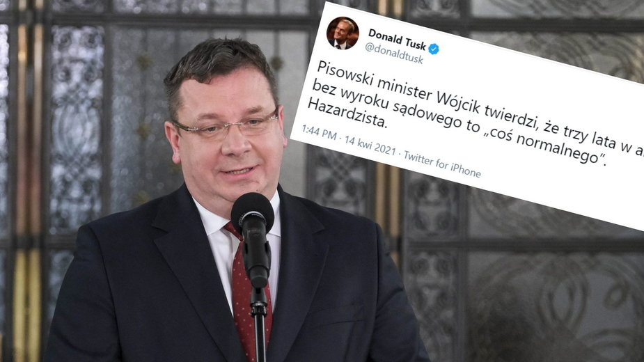 """Sławomir Nowak opuścił areszt. Tusk nazywa ministra """"hazardzistą"""""""